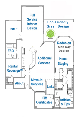 Area Aesthetics Site Navigation Map - Floor Plan